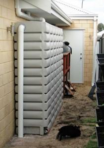 3000L Thin Tank rainwater tank