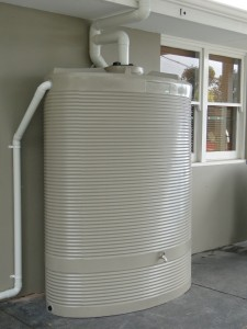1500L slimline tank, West Coast Poly