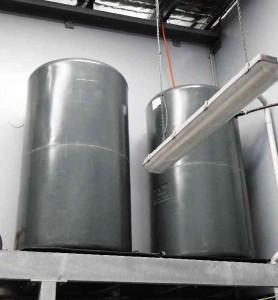 Graf RMP1000 industrial poly tank