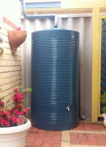 West Coast Poly 720L rainwater tank