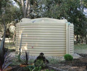 West Coast Poly 23000L rainwater tank