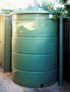 Round rainwater tank RMP1 2800L