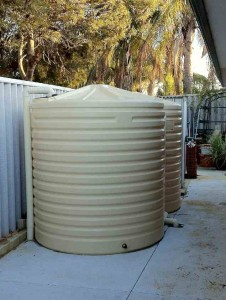 West Coast Poly 4500L rural tank