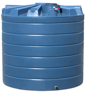 10500L smooth-walled poly water tank