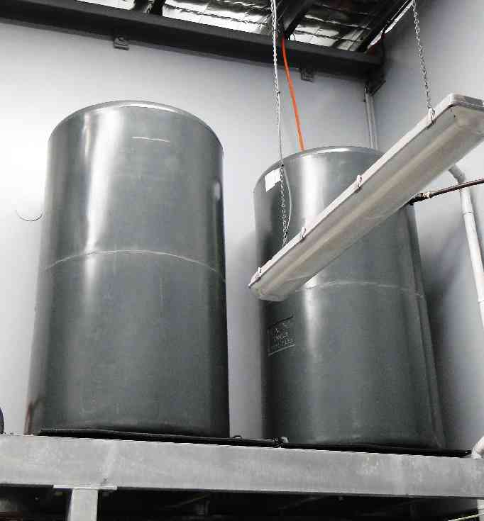 Graf Plastics RMP1000 round tank SG1.2