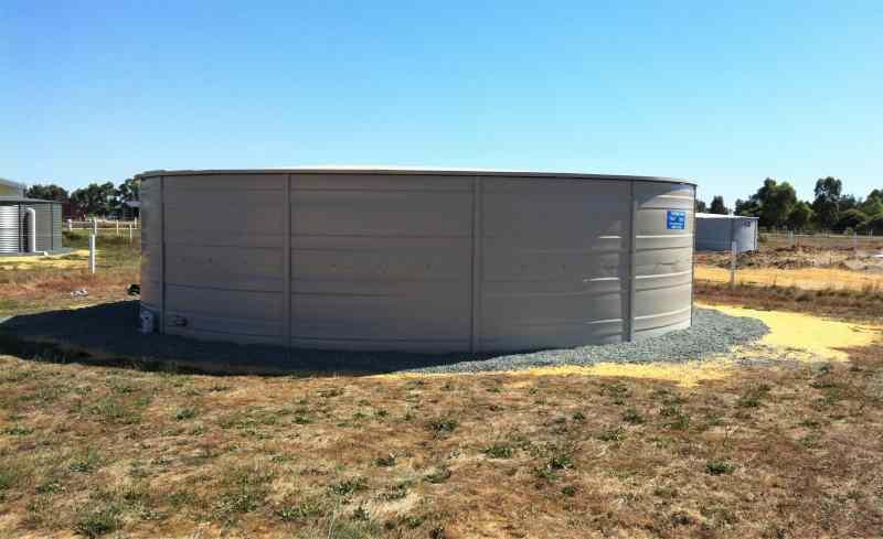 Steel liner tank HGT160