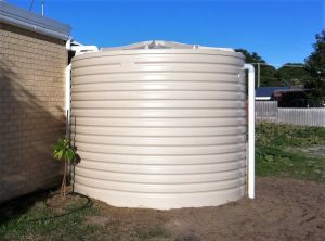 West Coast Poly 14kL rainwater tank