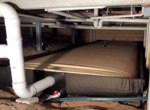 EcoSac bladder tank installed