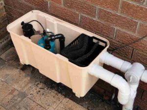 G-Flow greywater system installed